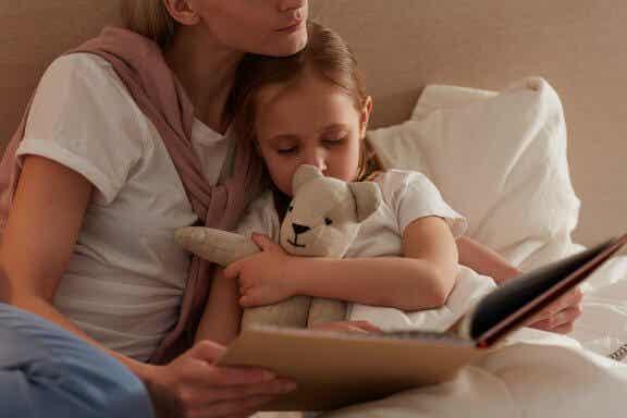 A importância de ler uma história antes de dormir