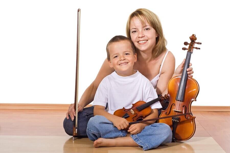 Benefícios de tocar um instrumento musical