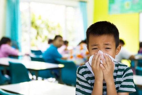 crianças que ficam doentes