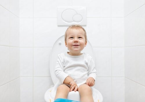 O primeiro passo para a criança deixar a fralda é comprar um penico ou colocar adaptador para vaso sanitário no banheiro.