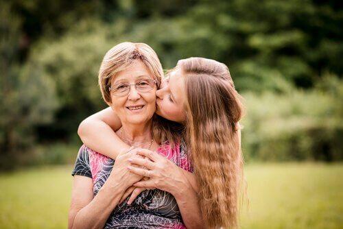 A avó é sempre especial para os netos.