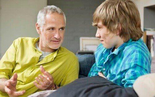 conversar com um adolescente