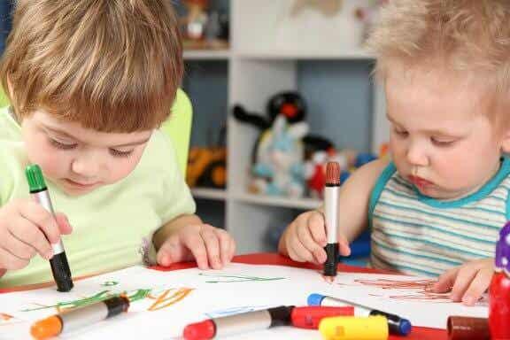 Os rabiscos das crianças e seu significado