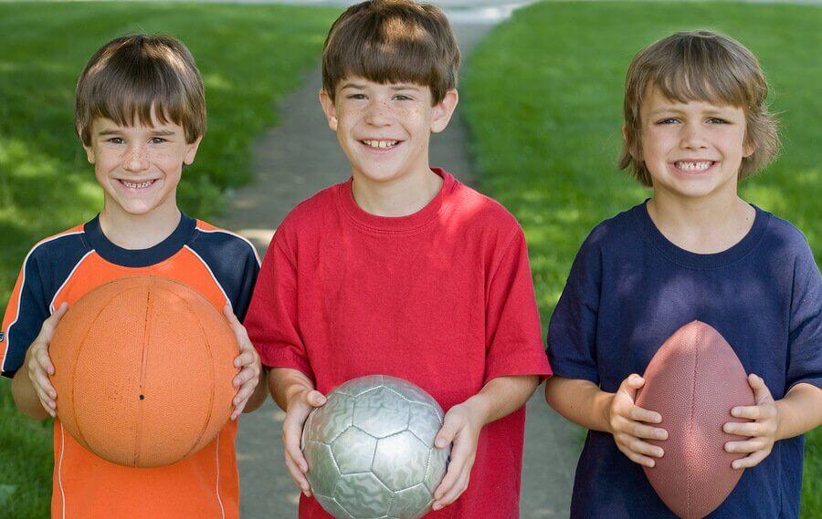 Quais são os benefícios psicológicos do esporte em crianças