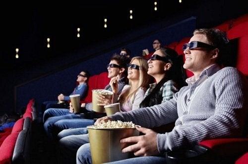 comer saudável no cinema