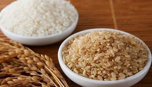 arroz integral rico em magnésio