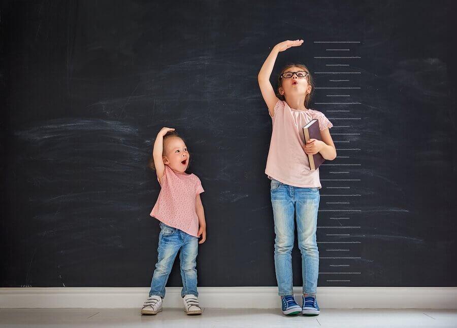 As meninas podem crescer até qual idade?