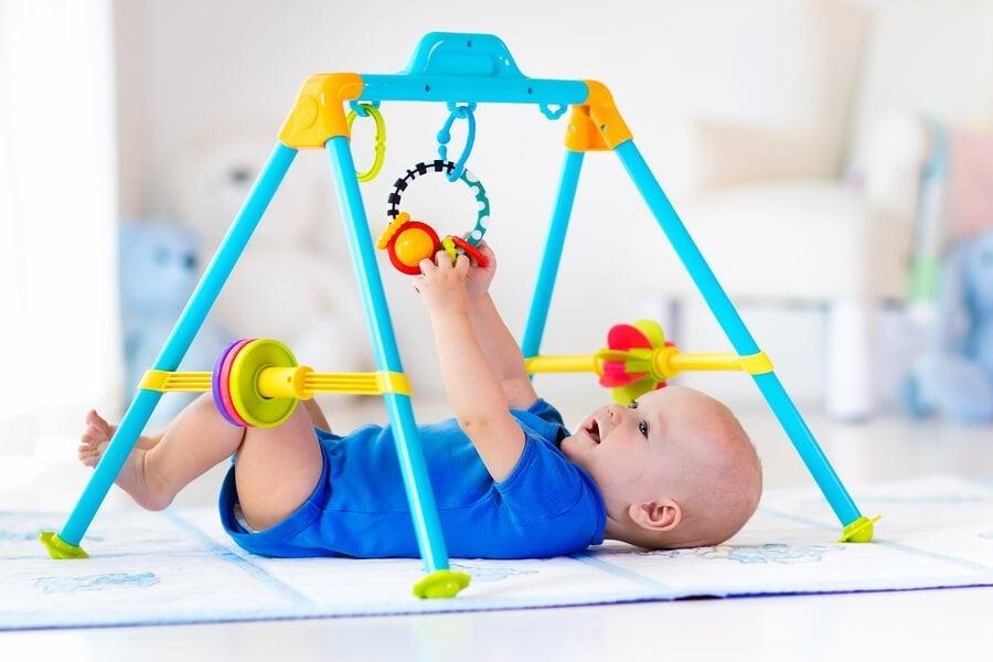 Academias e parques para bebês