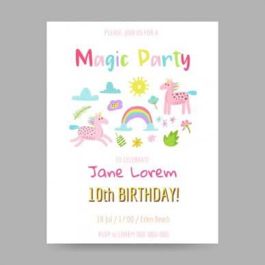 5 ideias para fazer o convite de aniversário do seu filho