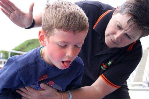 É preciso estar preparado em caso de anafilaxia em crianças.