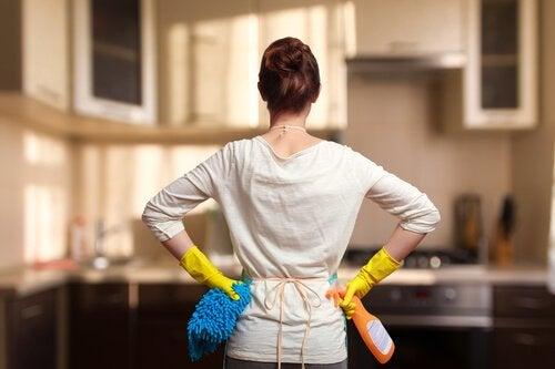 Como organizar a limpeza da casa