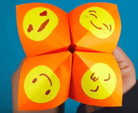 Emojis de papel para ajudar seu filho a expressar as emoções