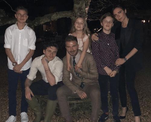O casal Beckham