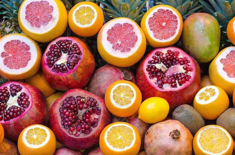 As frutas cítricas são ótimas para impusionar o sistema imunológico