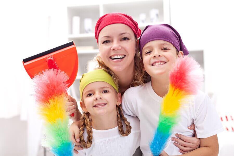 Limpeza da casa: dicas e truques