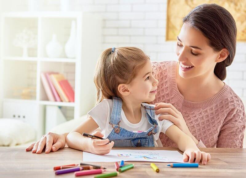 trabalhos manuais com as crianças