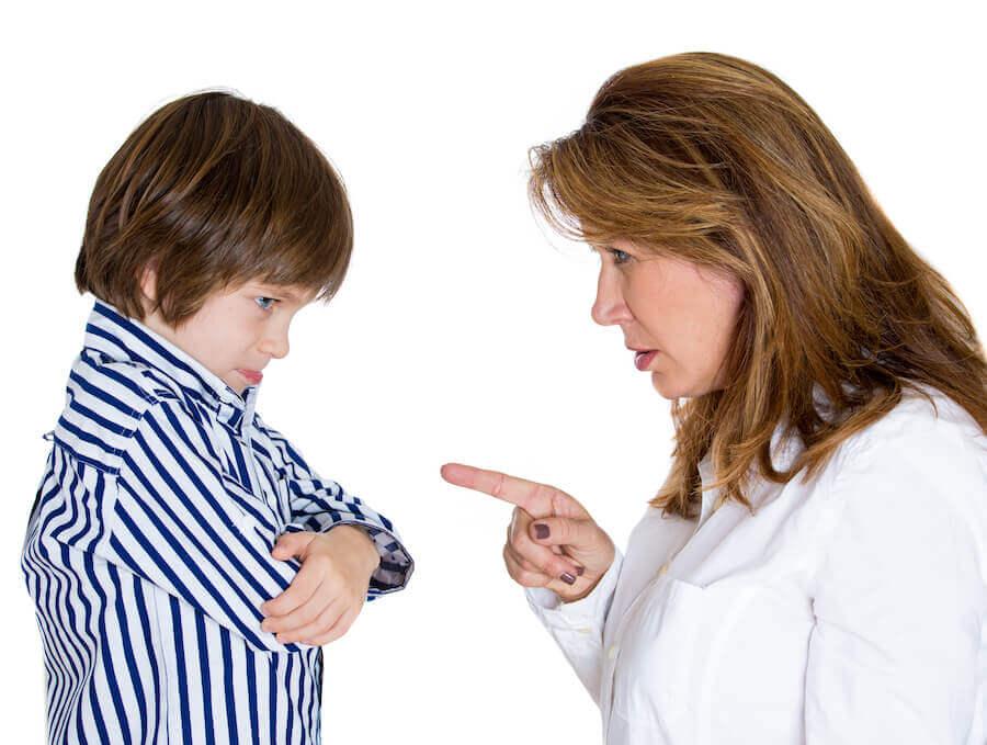 O comportamento das crianças diante do controle dos pais