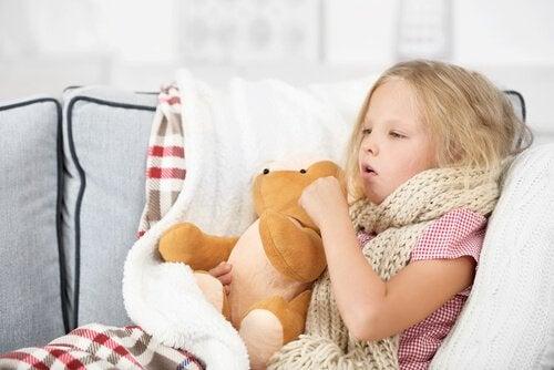 Sintomas dos sibilos nas crianças