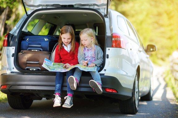 8 brincadeiras para entreter as crianças durante viagens longas