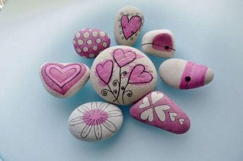 Possíveis usos das pedras dentro da decoração
