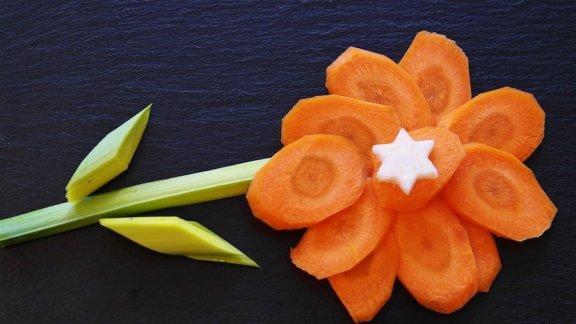 4 receitas com cenoura para crianças