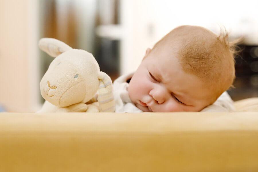 A queda de cabelo em recém-nascidos