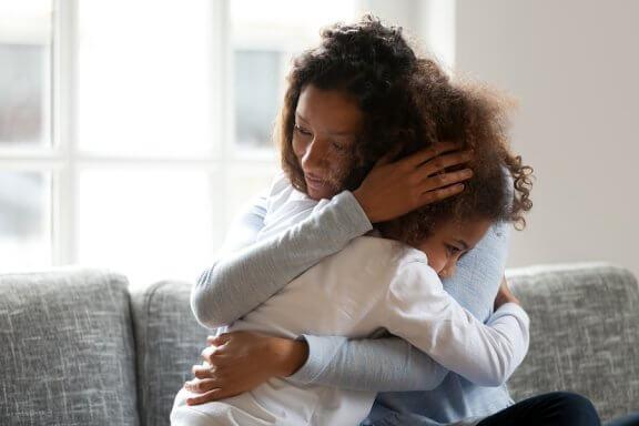 A ansiedade da separação mãe e filho pode ser superada.