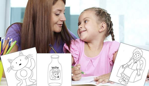 São muitos benefícios de colorir para as crianças, portanto os pais devem incentivar.