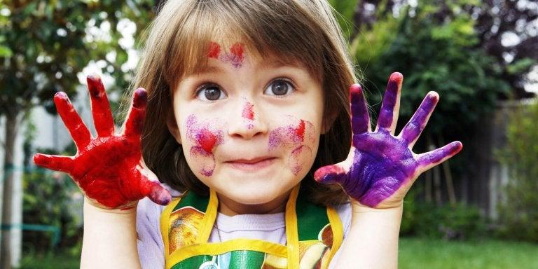 Oficinas criativas têm muitos benefícios para as crianças.