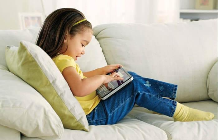 estilo de vida sedentário em crianças