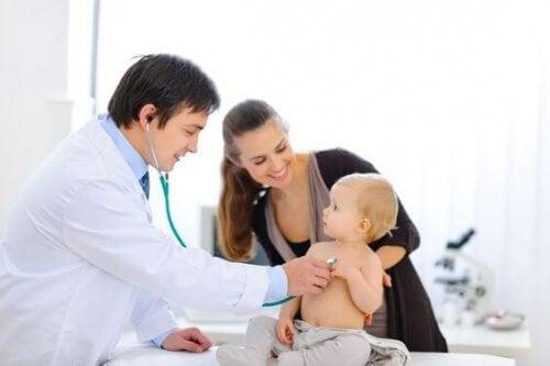 consulta com o pediatra