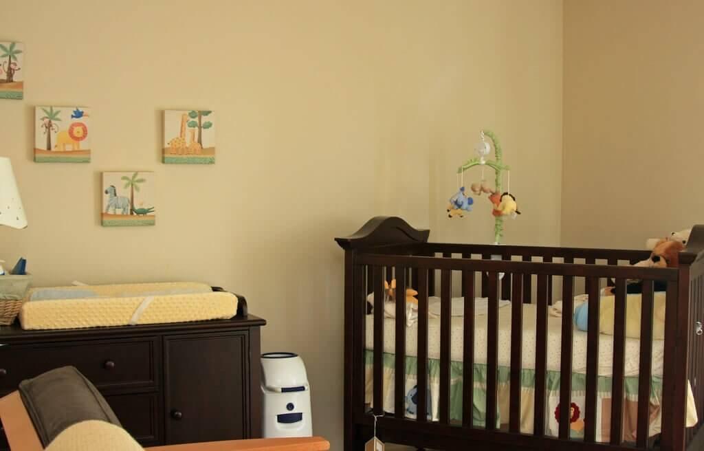 6 tipos de trocador para bebês