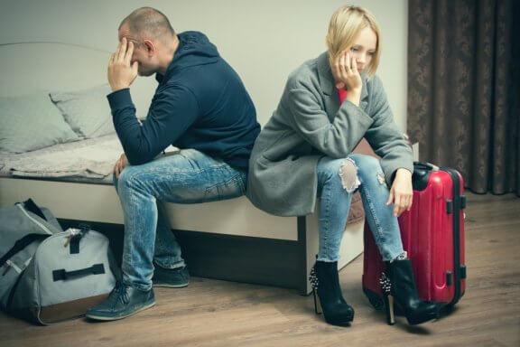A separação do casal: como cada um dos seus estágios nos afeta?