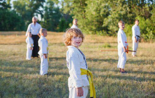 razões para praticar o Kung Fu para crianças