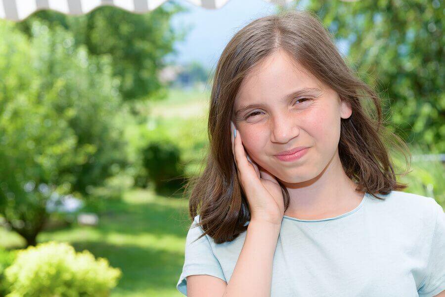 Ruptura do tímpano em crianças