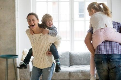 Os pais devem ser um bom modelo de comportamento