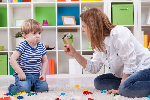 Consequências na personalidade da criança