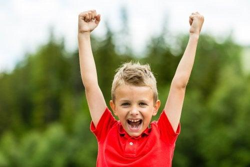 Crianças com uma boa autoestima