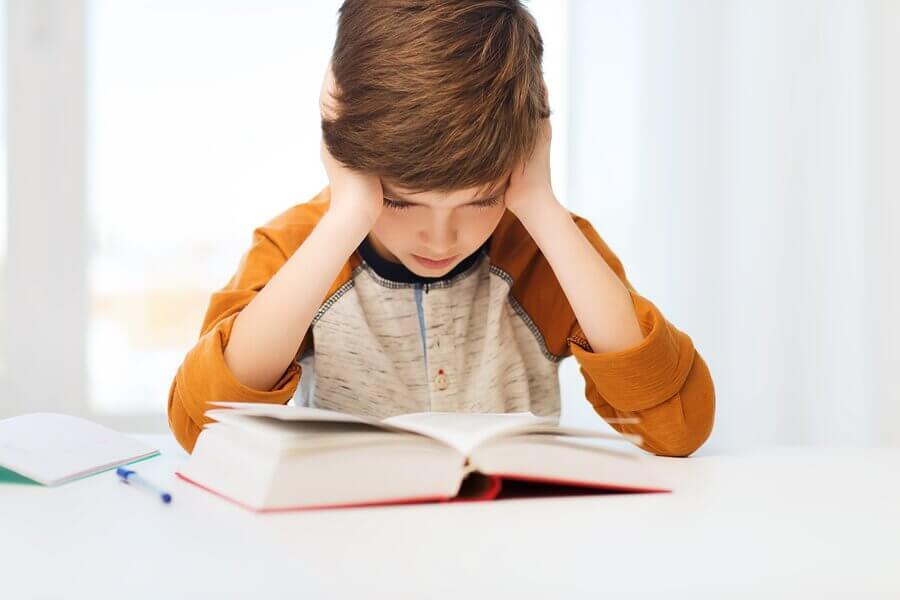 5 problemas de leitura nas crianças