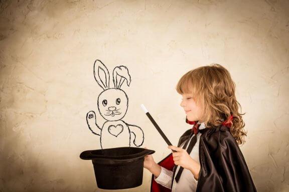 Truques de mágica para crianças
