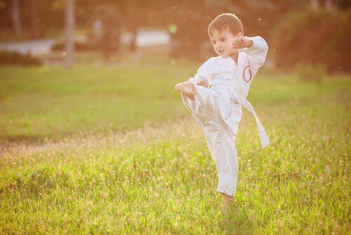 Artes marciais mais comuns para crianças