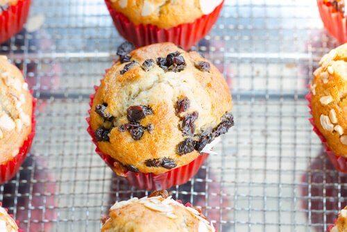 muffins para crianças