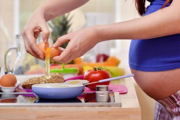 Guia de alimentação para gestantes