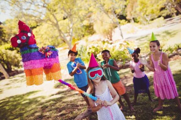 Brincadeiras fáceis para aniversários de criança