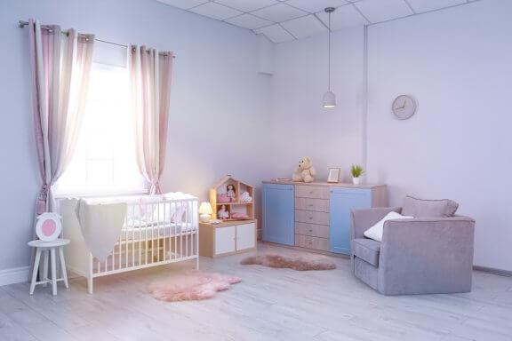 Ideias para o quarto do bebê