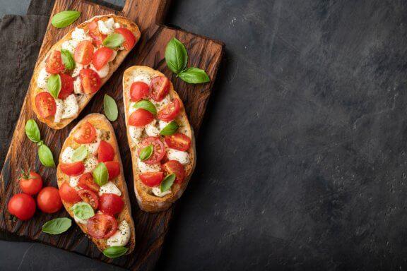6 ideias de aperitivos rápidos