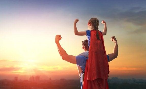 Criar crianças com autoestima