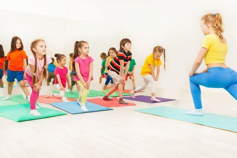 Aeróbico para crianças: um exercício ideal