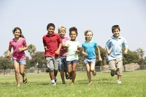 4 brincadeiras recreativas para crianças