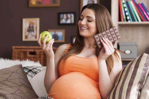 Quando a fome voraz aparece na gravidez?